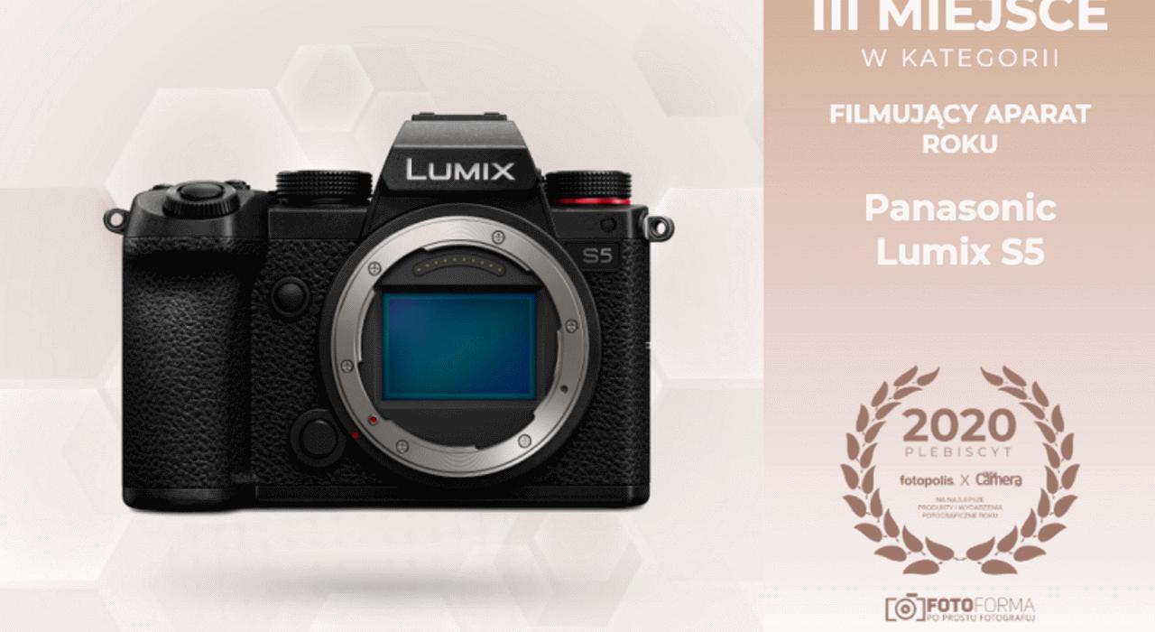 Lumix S5 wyróżniony w plebiscycie Fotopolis i Digital Camera Polska
