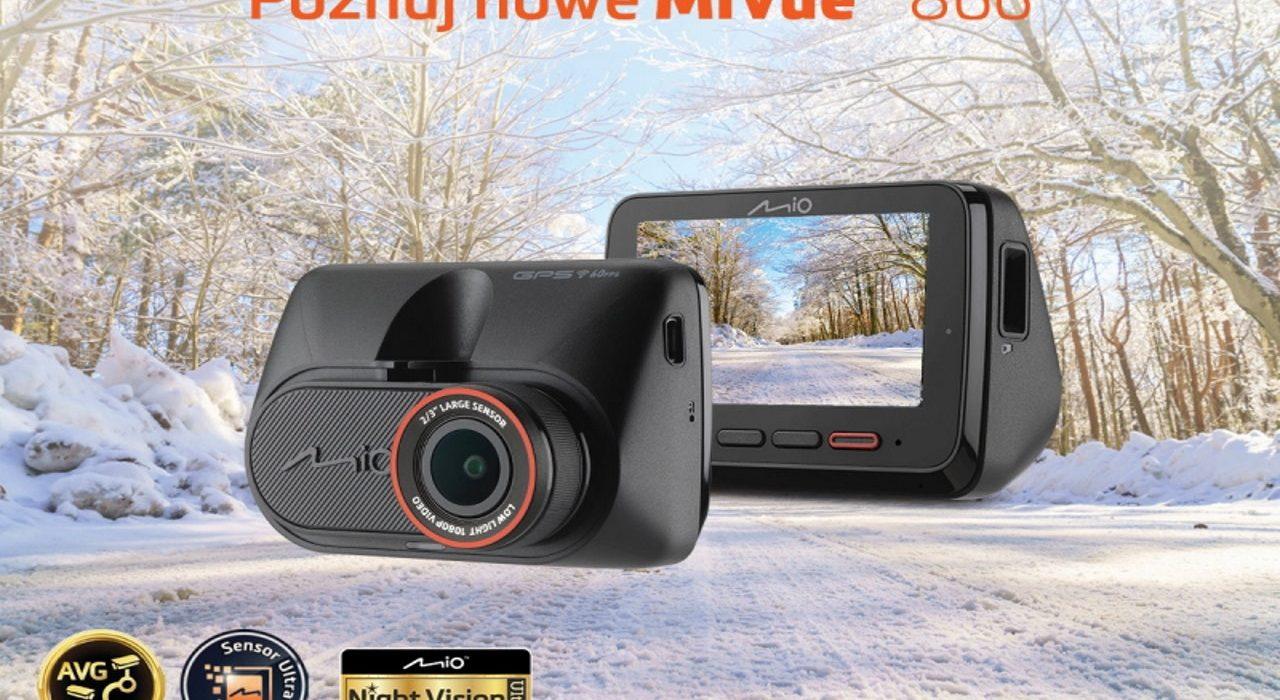 Mio MiVue 866 – pierwszy wideorejestrator z Night Vision Ultra